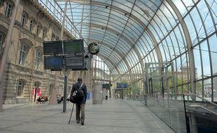 La gare de Strasbourg. Le 08 06 2010