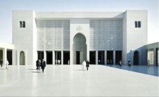 Les musulmans bénéficieront d'une salle de prière de 2 500 m2 (image de synthèse).