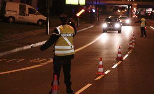 Une opération de la gendarmerie nationale sur les routes de la Haute-Garonne. illustration