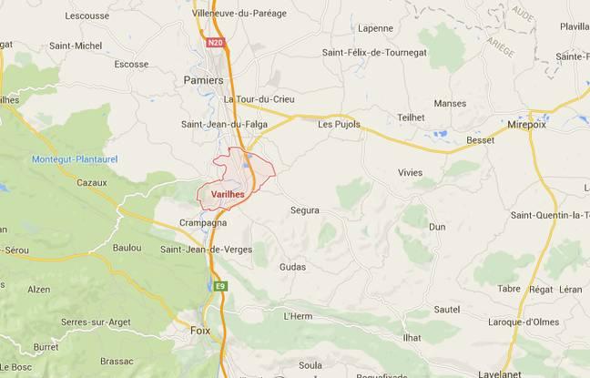 La commune de Varilhes, dans l'Ariège.
