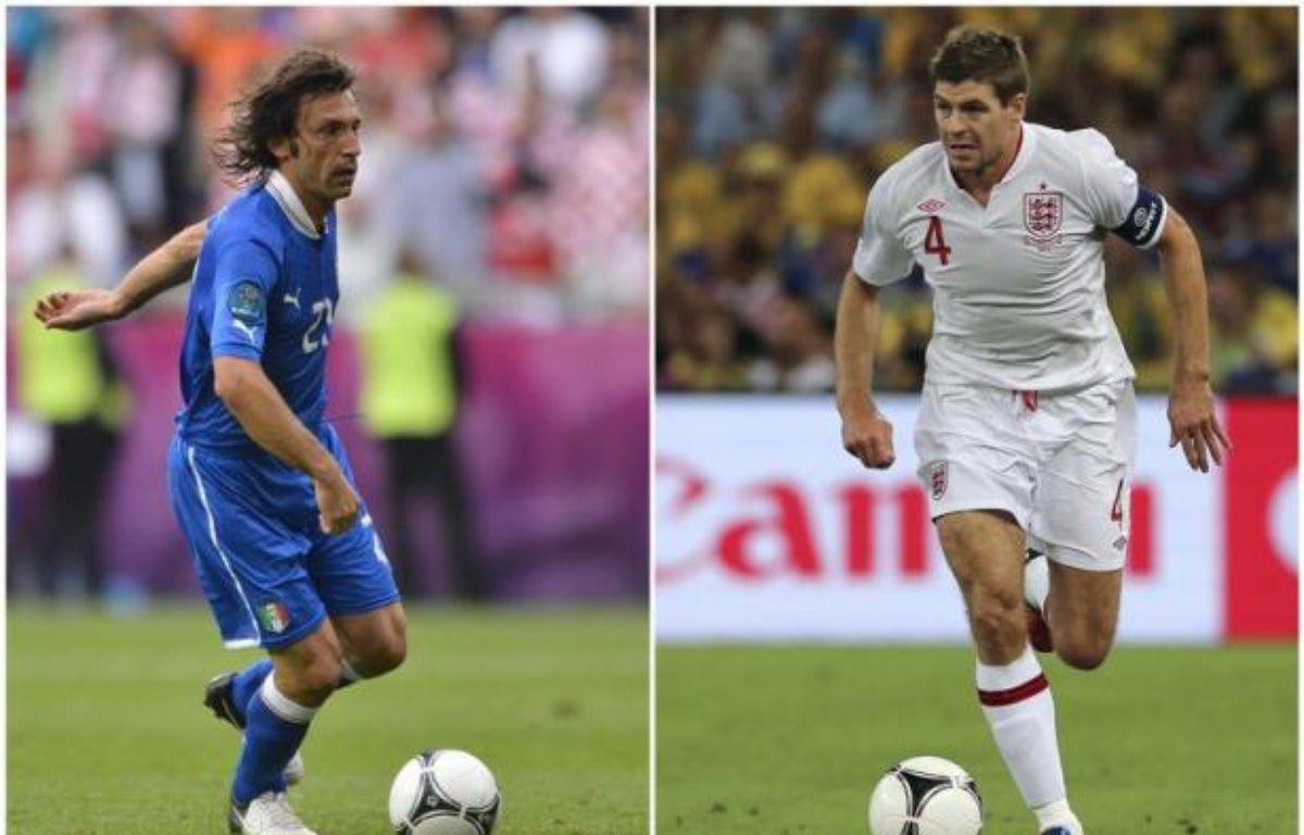 L'Italie et l'Angleterre, arrivées à l'Euro escortées par le doute après des préparations parasitées par les absences, les blessures et les scandales, se disputeront pourtant dimanche à Kiev une place en demi-finale de l'Euro-2012, où les attend la redoutable Allemagne. – Fabrice Coffrini afp.com