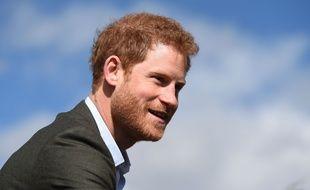 Le prince Harry, en mars 2017.