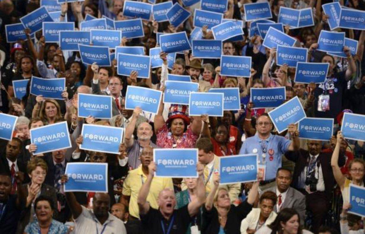 Une fois balayés les confettis, à quoi auront servi les conventions républicaine et démocrate américaines? A deux mois de l'élection présidentielle, la plupart des experts estiment que leur effet sera, au mieux, de courte durée. – Brendan Smialowski afp.com