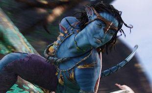 Neytiri (Zoe Saldana) dans «Avatar».