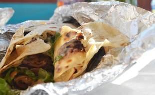 Un kebab.