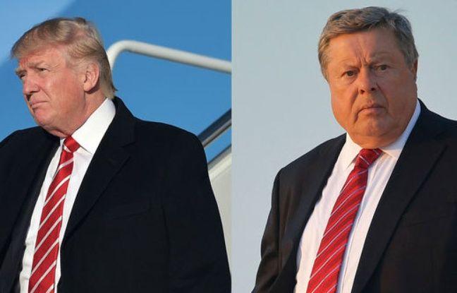 Devinette : Lequel est Donald, lequel est Viktor ?