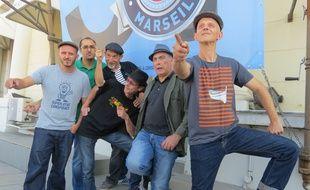 Marseille, le 2 octobre 2014, le groupe Massilia Sound System presente son nouvel album.