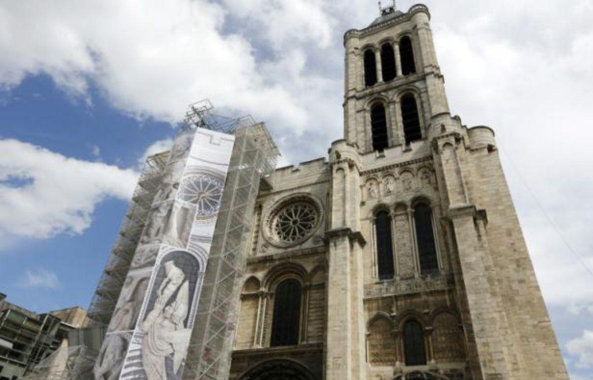 La Basilique Saint-Denis en traveaux le 9 mai 2013, à Saint-Denis près de Paris – Francois Guillot AFP