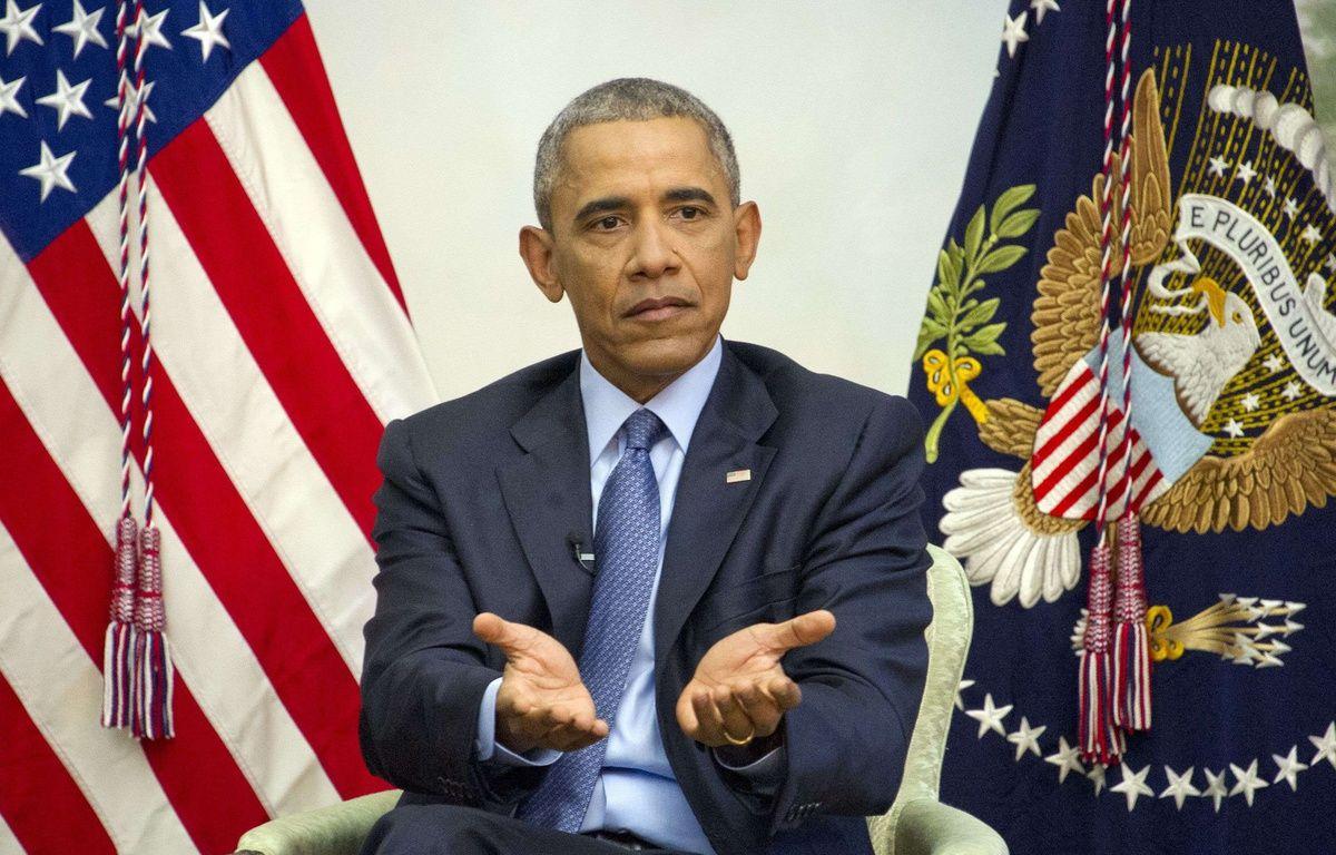 Barack Obama à Washington, le 6 janvier 2017. – Shutterstock/SIPA