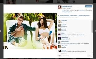 Justin Bieber et Kendall Jenner posent ensemble pour «Vogue».