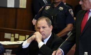 Hervey Weinstein le 9 juillet 2018 devant la cour suprême de New York.
