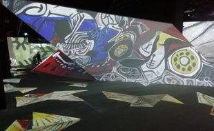 Lyon, le 17 octobre 2019<br /> Exposition immersive Picasso à la Sucrière de Lyon.