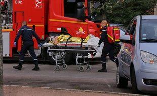 Une forte déflagration a été entendue rue Pierre-Palliot, dans le centre de Dijon. L'explosion est survenue dans un immeuble situ près de la gare.