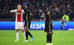 Les Lyonnais n'ont pas pesé lourd mercredi à Amsterdam