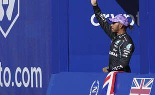 Lewis Hamilton s'est imposé à domicile.