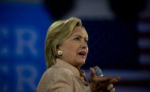 La candidate démocrate à la Maison blanche Hillary Clinton