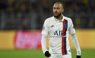 Neymar lors de Borussia Dortmund-PSG, le 18 février 2020.