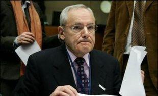 Jaques Barrot, vice-président de la Commission européenne