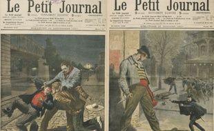 Les méfaits des Apaches font régulièrement la une du «Petit Journal».