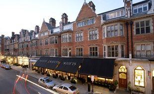 Chez Scott's, l'adresse préférée de James Bond et M à Londres.