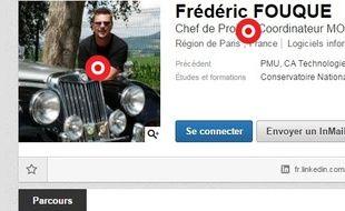Le CV de Frédéric
