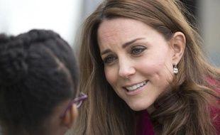 Kate, la duchesse de Cambridge, le 27 mars 2015 à Londres