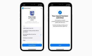 iOS 15: Apple autorise les demandes de remboursement des achats intégrés in-app