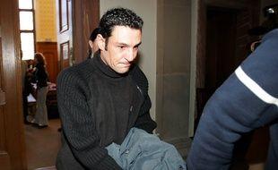 FRANCE, Colmar : Christophe Morat, le 4 janvier 2005, lors de sa première condamnation.