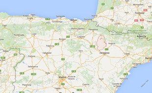 La région de Cinco Villas, en Espagne.