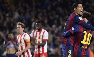 Le Barça s'est fait plaisir face à Almeria.