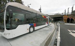 Le bus à haut niveau de service est plébiscité par les conducteurs.