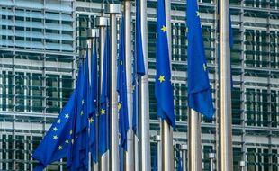 La Commission européenne à Bruxelles le 24 avril 2015