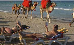 Une plage de Djerba (Tunisie) en 2008.