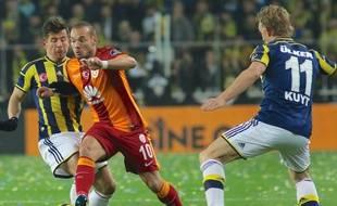 Galatasaray-Fenerbahçe, le 8 mars 2015.