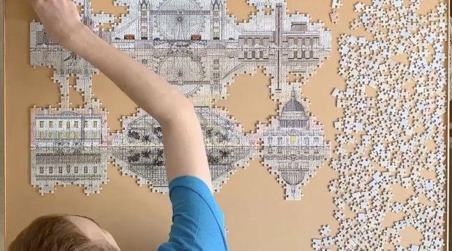 Coronavirus : Super kitsch, en 3D, à 1.000 pièces… Le puzzle a pris sa revanche avec la crise sanitaire - 20 Minutes