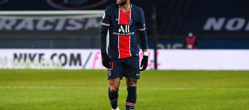 Le Brésilien Neymar est incertain pour le choc OM-PSG à Marseille, dimanche