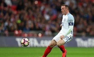 Wayne Rooney lors du match entre l'Angleterre et Malte le 8 octobre 2016.