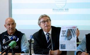 Le président du Racing 92 n'est pas super content.