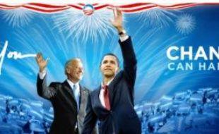 La page d'accueil du site d'Obama, arme centrale de sa stratégie