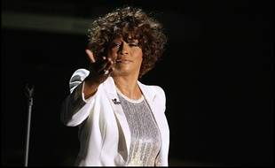 La chanteuse Whitney Houston