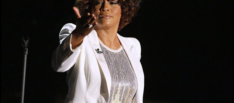 La chanteuse Whitney Houston