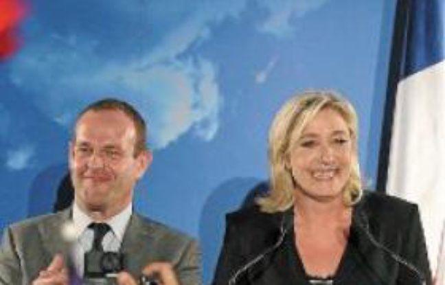Steeve Briois et Marine Le Pen.