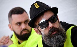 """Eric Drouet et Jérôme Rodrigues, figures du mouvement des """"gilets jaunes"""""""