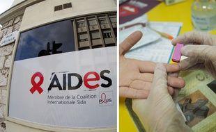 Le nouveau «spot» de Aides propose notamment des dépistages rapides