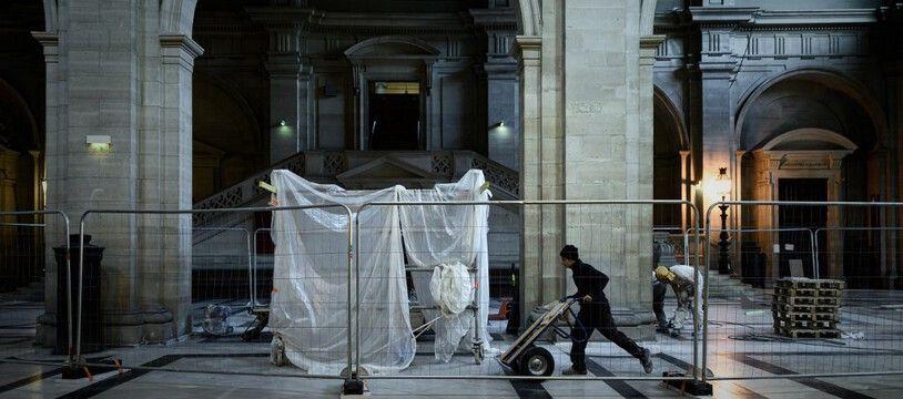 Les travaux pour accueillir la salle du procès du 13-Novembre doivent se terminer en mai 2021 dans l'ancien palais de Justice de Paris.