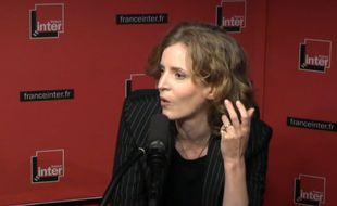 Nathalie Kosciusko-Morizet invitée de la matinale de France Inter le 29 septembre 2014.