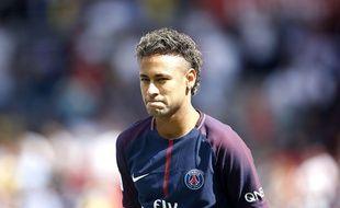 Neymar à Paris, le 5 août 2017.