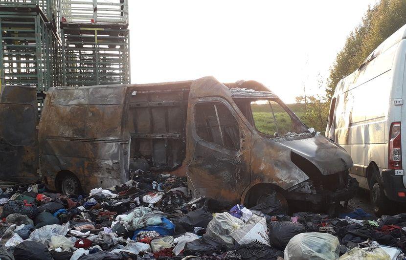 Rennes: Les collectes de vêtements perturbées après l'incendie dans l'entreprise d'insertion Le Relais