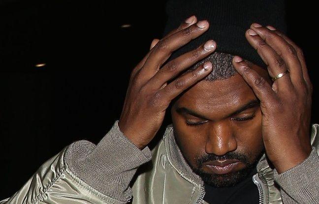 Le rappeur Kanye West à Los Angeles en janvier 2016