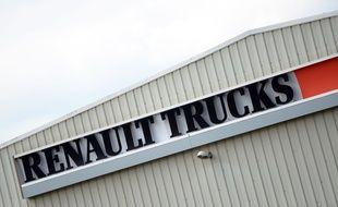 Renault Trucks veut supprimer 591 postes dans ses services administratifs en France. 28 Avril 2015/ALLILIMOURAD_1750.01/Credit:ALLILI/SIPA/1504281755